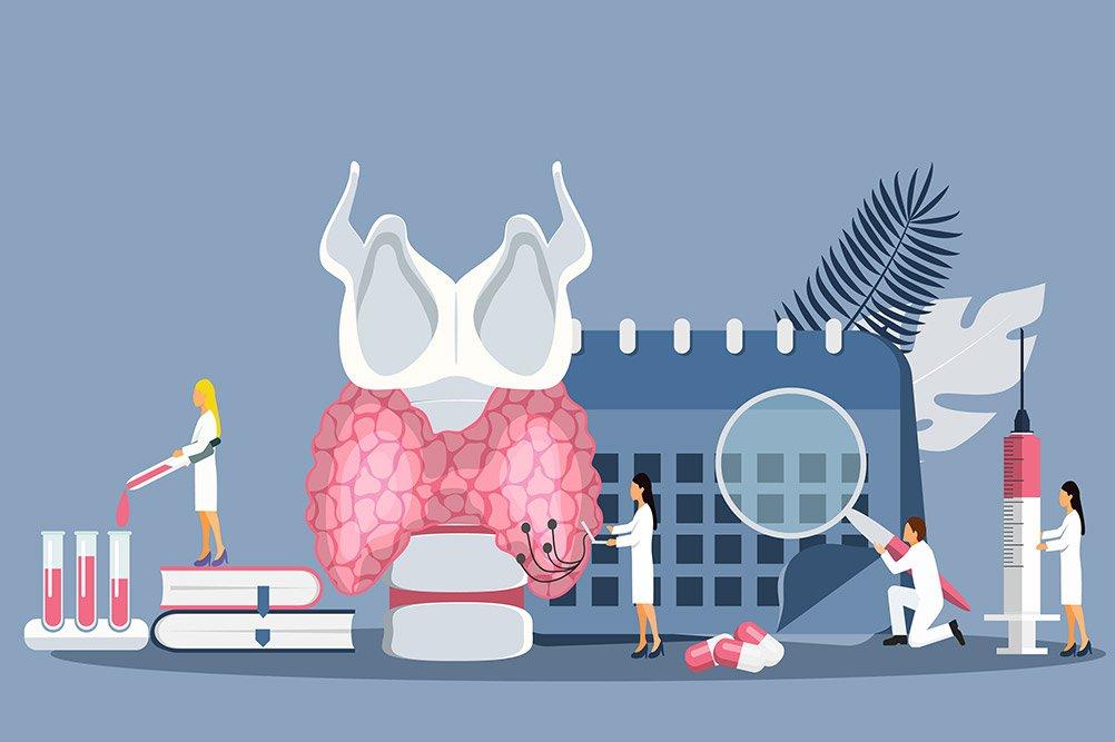Tumore tiroide esami e controlli post trattamento