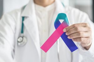 Tumore della tiroide nastrino